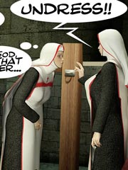 Suffering Sinner - Great BDSM Story about Shemale Nuns!